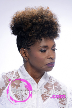 Left Side View of a Natural Hairstyle from Shayla Wade