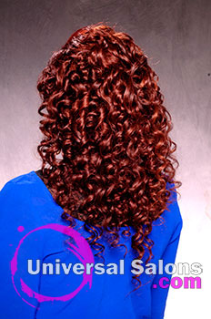 Short Haircut With Long Curly Extensions From Brittany Davis