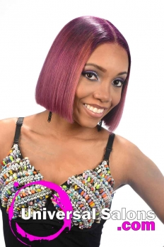 Blunt Bob Haircut with Bubble Gum Hair Color from Deirdre Clay (2)
