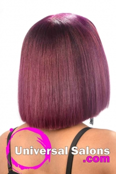 Blunt Bob Haircut with Bubble Gum Hair Color from Deirdre Clay (5)