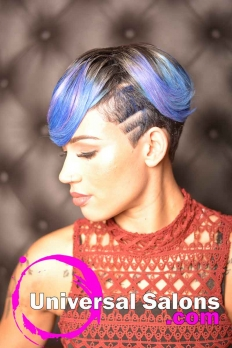 Check Out This Short Hairstyle with Color from Amelia Travis (3)