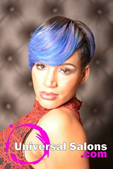 Check Out This Short Hairstyle with Color from Amelia Travis (5)