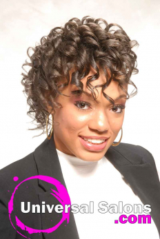 Curly Black Hairstyle with Braids from Erma Stephens (2)