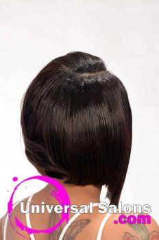 Curly Bob Black Hairstyle from DeVante Brasley-Green (4)