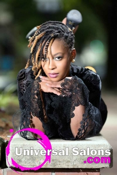 Deirdre Clay's Natural Loc Updo Hairstyle (2)