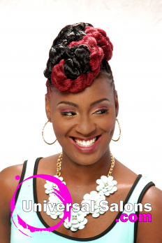Patricia Clinkscales' Dual Identity Natural Hairstyle