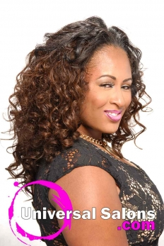 Long Curly Weave Hairstyle from Velesia Screen (4)