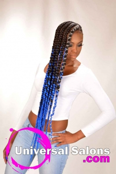 Long, Lemonade Braid Extensions from Jameka Davenport (2)