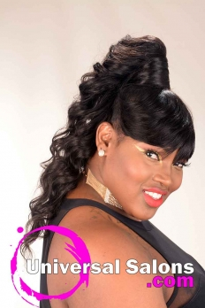 Long Ponytail Hairstyle for Black Women from Amber McClain  (3)