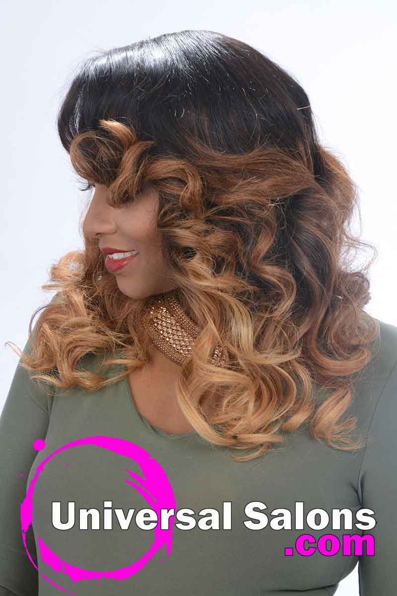 Long Two-Toned Shoulder Length Wig from Denise Grandberry (3)