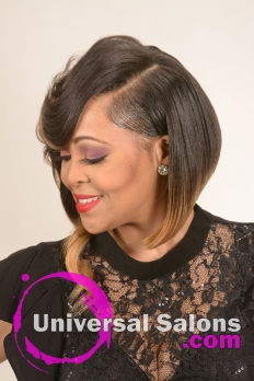 Medium Length Bob Hairstyle from Tiffany Thames (2)