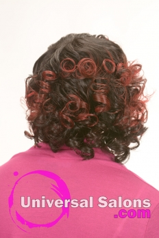Medium Length Hairstyle with Soft Curls from Kenya Young (3)