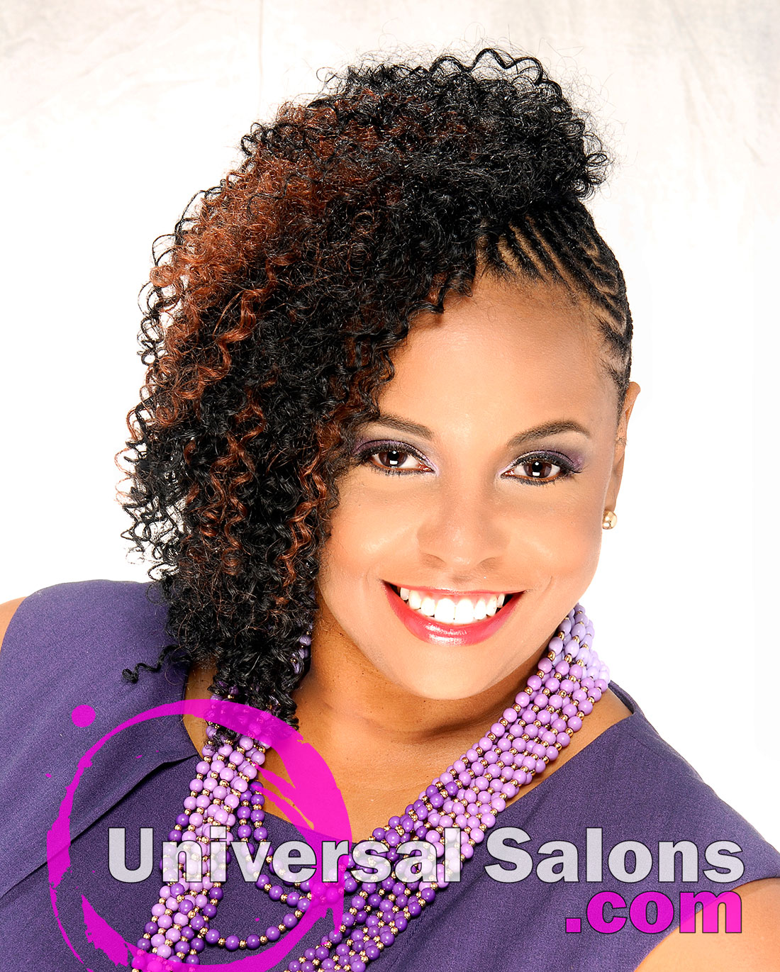 Extensions With Cornrows From Temi Roberts