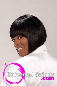 Short Cleopatra Hairstyle for Black Women from Shana Lucky (3)