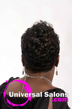 Short, Funky Black Hairstyle from Octavia Bonnette (4)