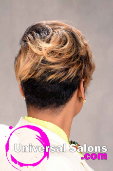 Short Hairstyle with Tapered Sides and Color from Tasha Hull (4)