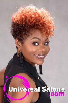 Short natural Hairstyle with Curls and Color from Tasha Hull (6)