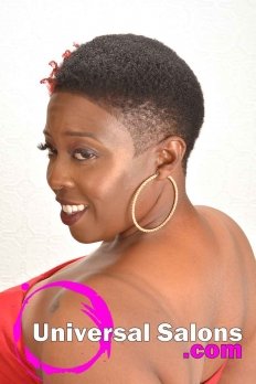 Short Natural Hairstyle with Hair Color from Bishop Da Showstopper (4)