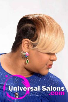 Short, Sassy, Blonde Hairstyle from Kevin Quattlebaum (2)