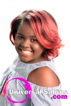 Silk Press with Color Melt Ombre Hairstyle from Dominique Blount (2)