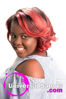 Silk Press with Color Melt Ombre Hairstyle from Dominique Blount (4)