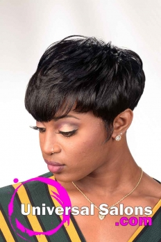 Sizzling Short Relaxed Hairstyle from Tameka Adams (2)