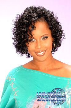 curly hairstyle from erma stephens • universal salons