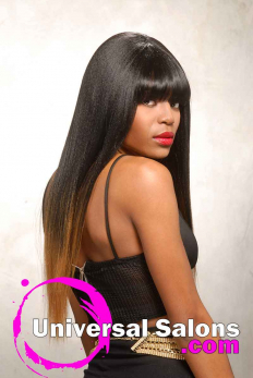 Terresa Murray's Silky Long Black Hairstyle (3)