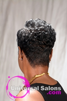 This Beautiful Short Hairstyle for Black Women By Karline Ricketts is Your Next Look (2)