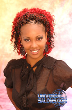 CURLY HAIR STYLES from KENYA RODGERS