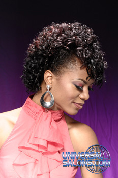 Curly Fauhawk from Shameeka Moore