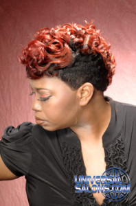 SHORT HAIR STYLES from _______ DRE' RAMSEUR BLANTON