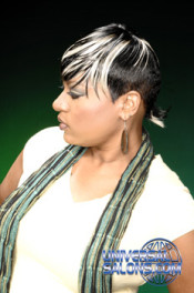 Short Quick Weave with a Tapered Neck from Tamyka Malcolm