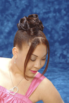 Updo Hairstyle from Latoya Robinson