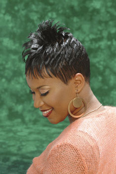 Short Hairstyle from Walidah Walker