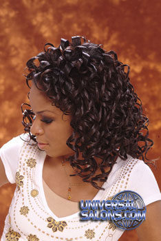 CURLY HAIR STYLES from DEBBIE HOLLIS