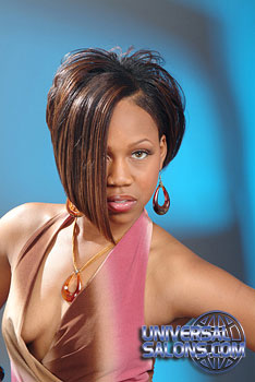 MEDIUM HAIR STYLES from_____TAISEKA MOORE-ROSE