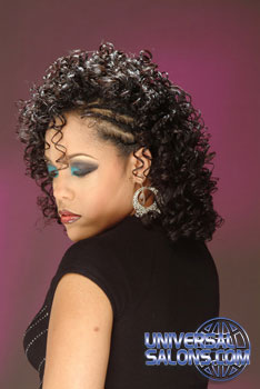 Long Curly Hairstyle from Ayanna Graves