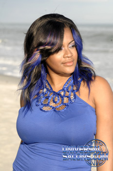 Ombre Hairstyles from Shontelise Crutch