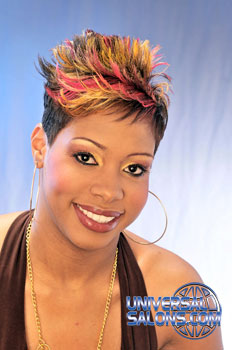 COLOR HAIR STYLES FROM________CONSTANCE PURNELL