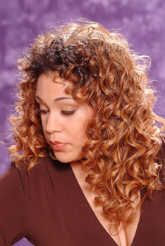CURLY HAIR STYLES from PAMELA HOLT BLACKSTOCK