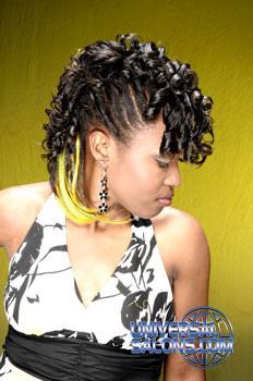 Alfreda Carrol's Faux Hawk Hairstyle