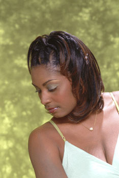 MEDIUM HAIR STYLES from YANEEK THOMAS