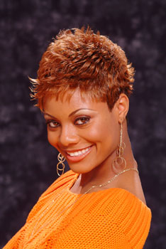 Short Hairstyle with Spikes and Hair Color from William Guthridge