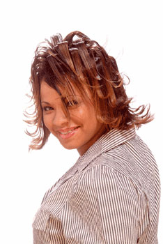 FLIP HAIR STYLES from NIKIA GORHAM