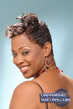 SHORT HAIR STYLES from_____RAE BROWN