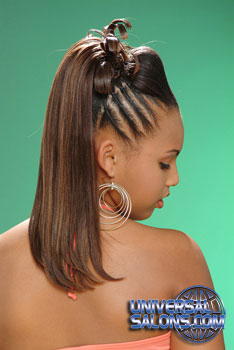 PONYTAIL HAIR STYLES___from___DELORY HAND