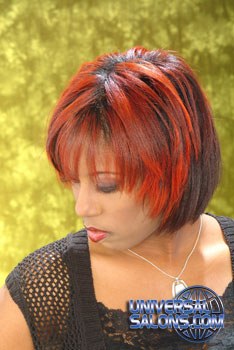 Vibrant Hair Color from Paulette Edwards