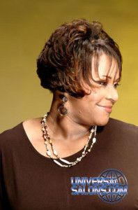 Short Bob Hairstyle with Hair Color from Hope Green-Johnson