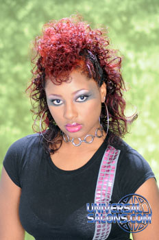 COLOR HAIR STYLES FROM MARVA MORRIS
